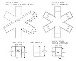 Plano Mesa Asterisco